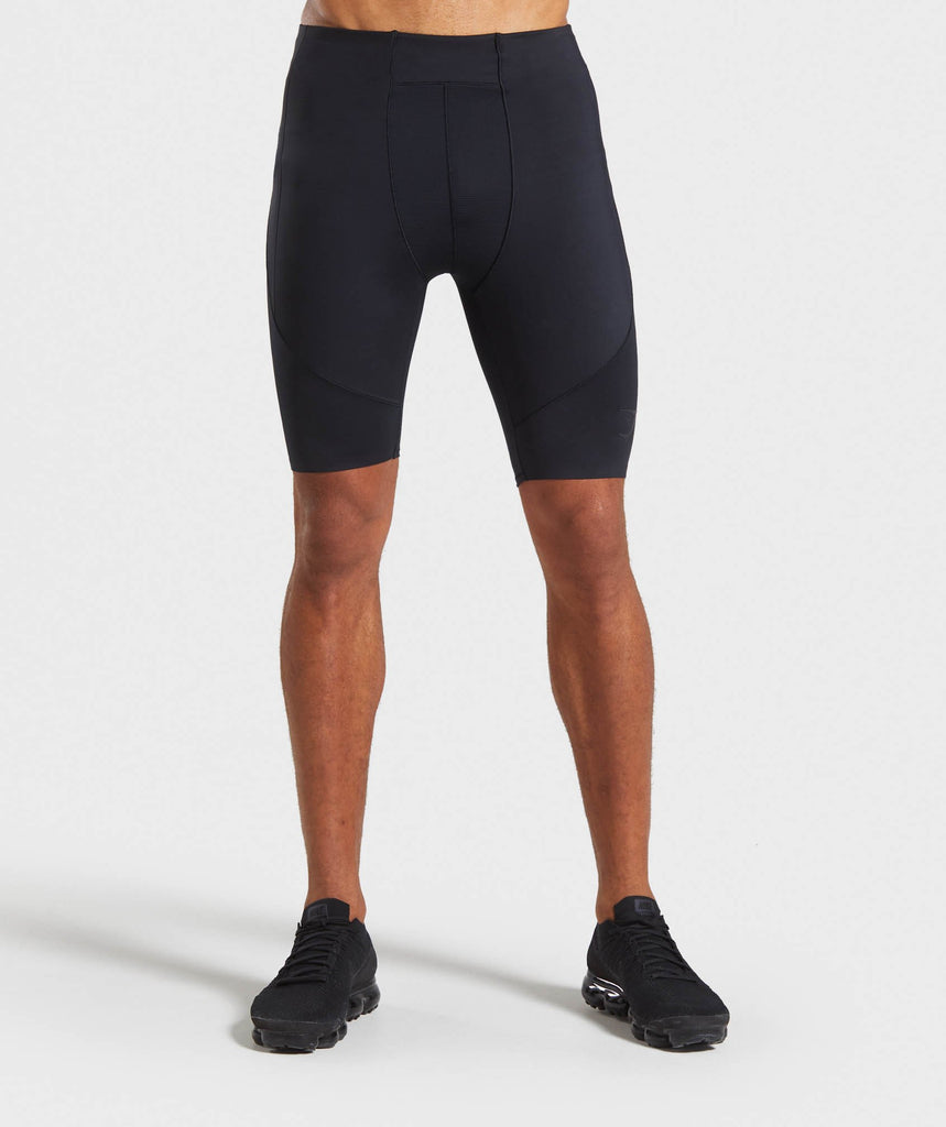 Gymshark Premium Baselayer Shorts - Black 1