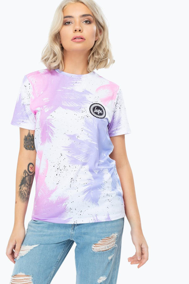 HYPE PALM SPLATTER WOMEN'S T-SHIRT