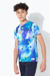 HYPE TOY STORY MULTI ALIEN GALAXY KIDS T-SHIRT