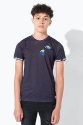 HYPE TOY STORY BLACK ALIENS POCKET KIDS T-SHIRT
