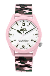 HYPE PINK CAMO WATCH