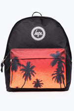 HYPE BLACK PALM TREE BACKPACK