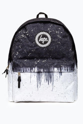 HYPE BLACK DRIP REFLECTIVE BACKPACK