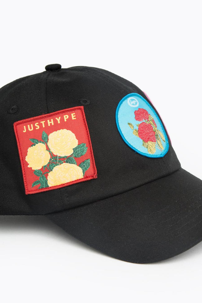 HYPE BLACK PATCHES DAD HAT
