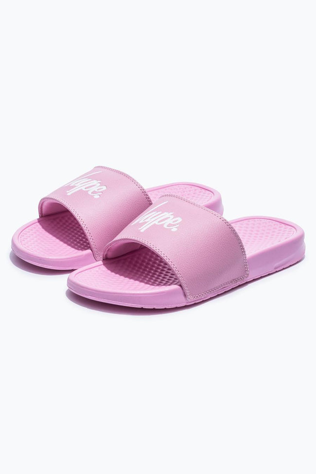 HYPE PINK CORE SLIDERS
