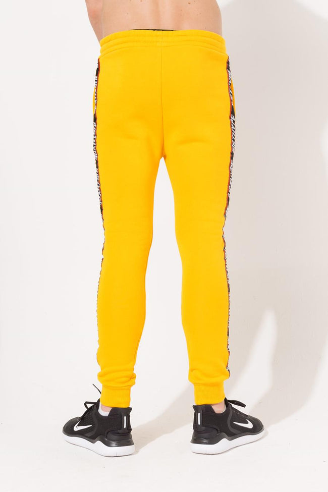 HYPE YELLOW TAPED KIDS JOGGERS