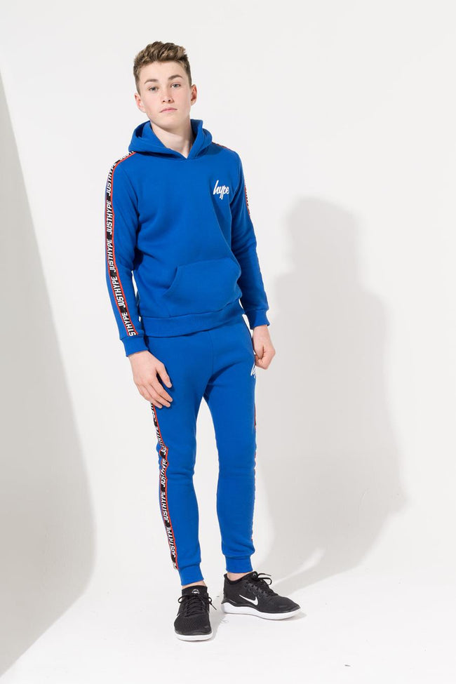 HYPE BLUE TAPED KIDS JOGGERS