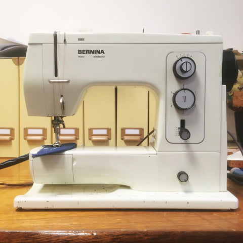 Bern the bernina in action