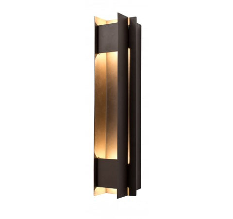 Westgate 10W Dark Bronze LED Passage Wall Sconces 100~277V AC