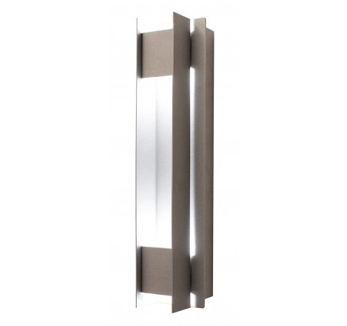 Westgate 20W Silver LED Passage Wall Sconces 100~277V AC