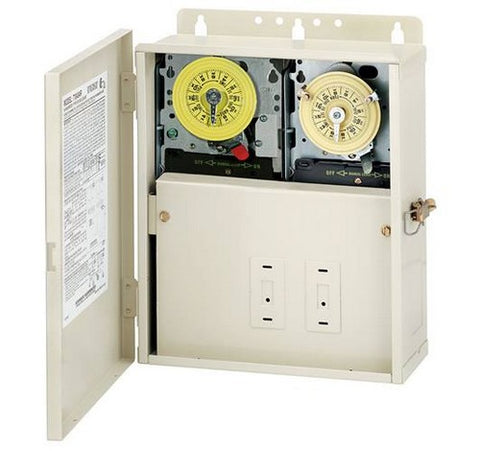 Intermatic T12404R 30 A Power Center With T104M201 & T104M Mechanisms - BuyRite Electric