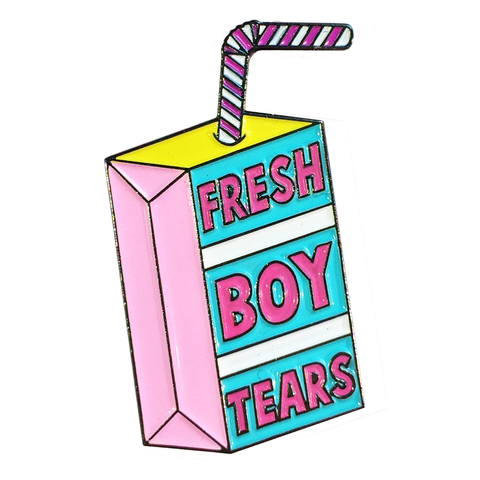 Fresh Boy Tears - Pin Badge