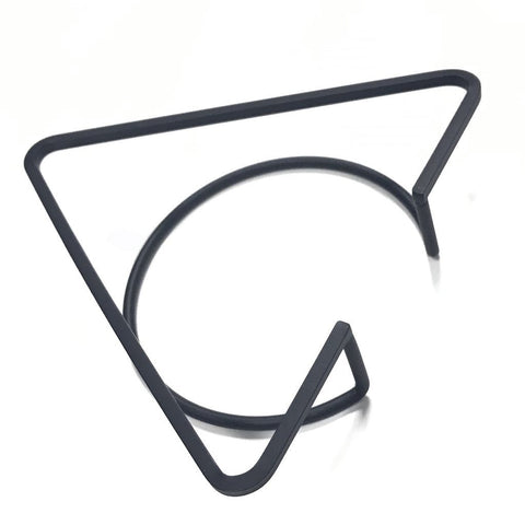 Minnie - Geometric Triangle Bangle