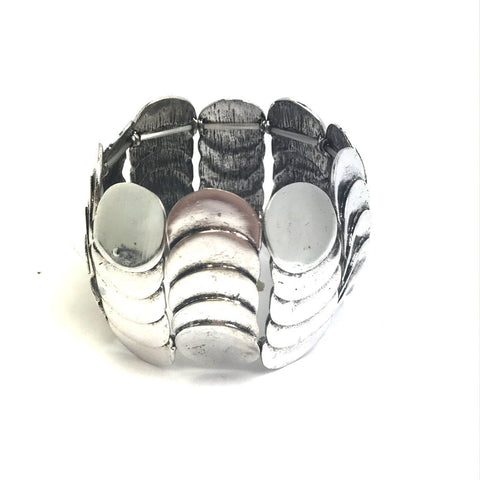 Contemporary Disc Bracelet