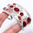 Garnet Gemstone Jewelry Cuff Bracelet Adjustable RC220
