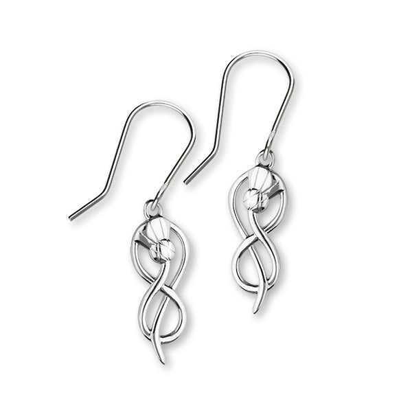 Thistle Silver Earrings E1517