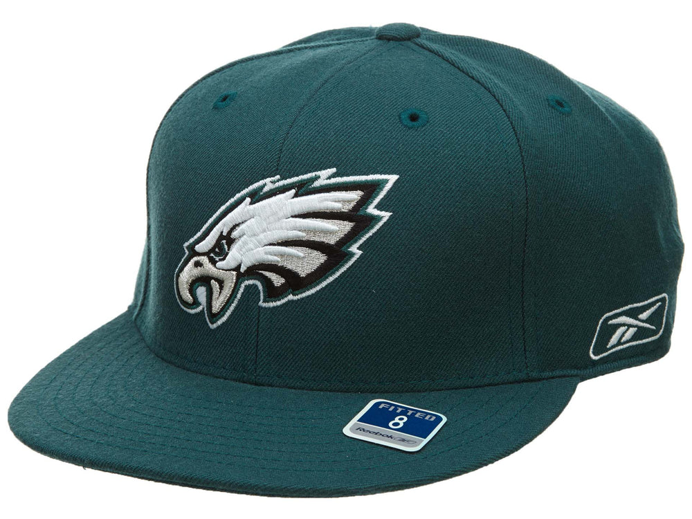 Reebok Philadelphia Eagles Fitted Hat Mens Style : Hat070