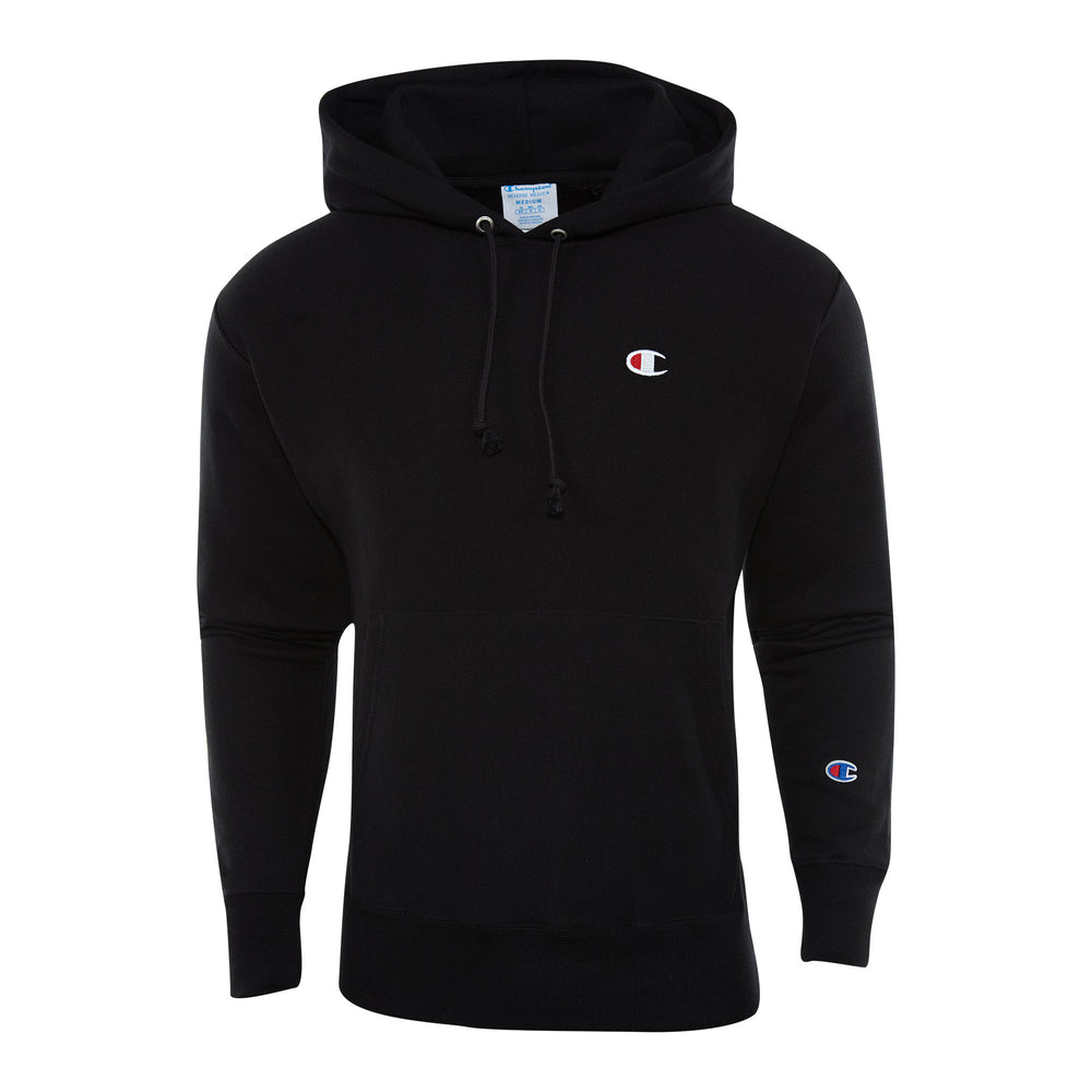 Champion Reverse Weave Pullover Hoodie Mens Style : Gf68y06145-BKC