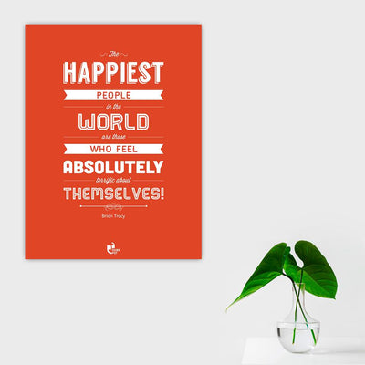 The Happiest People Poster