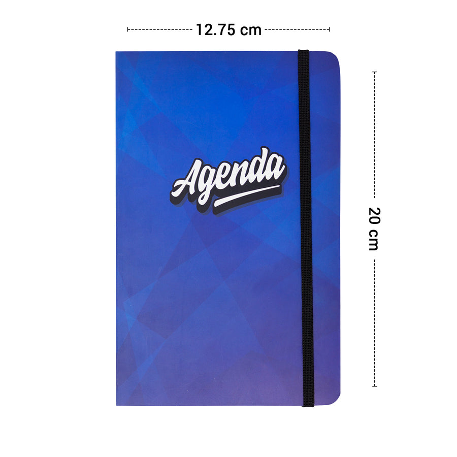 Agenda Notebook with Band
