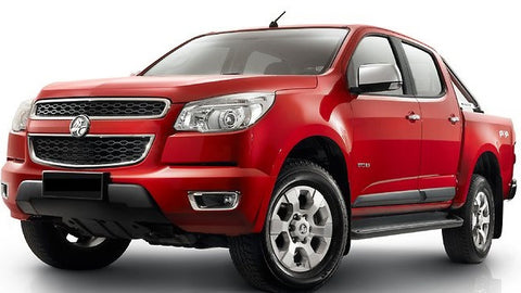 X500 Holden Colorado LS 2017 May+ (without factory GPS unit): P8000-0031T
