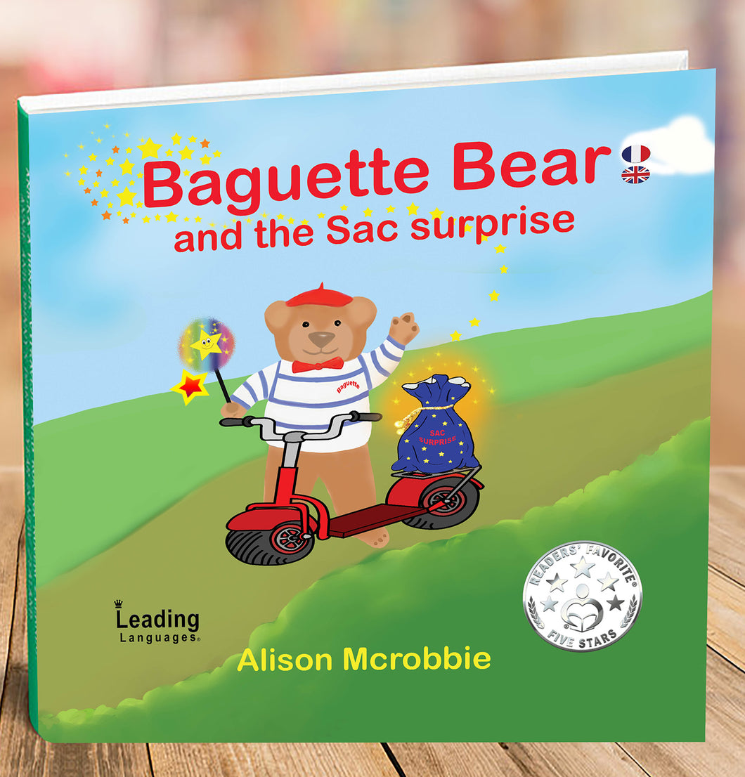 BAGUETTE BEARS AWARD WINNING BOOKS