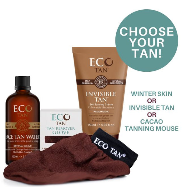 Eco Tan Glow Complete Tanning Kit