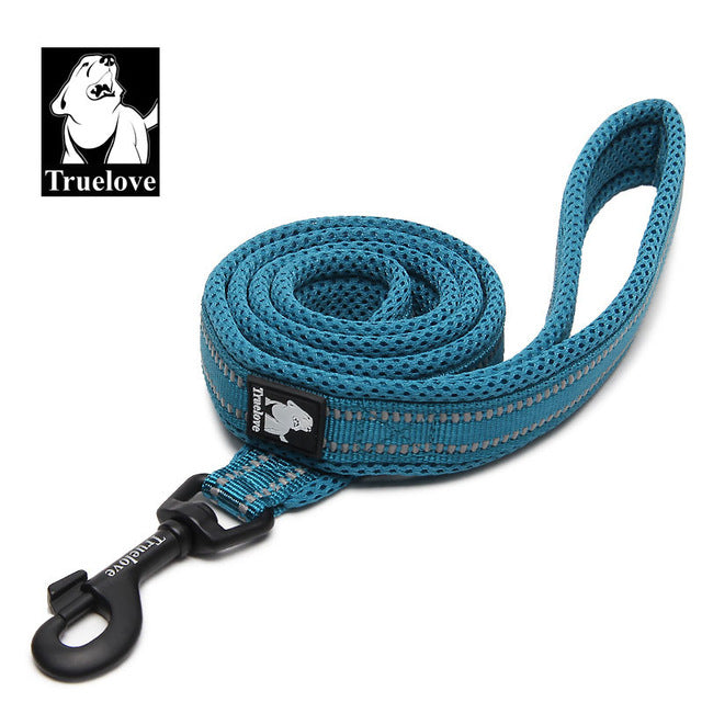 Truelove Soft mesh Nylon Dog Leash Double Trickness  Running Reflective safe Walking Training Pet Dog Lead leash Stock 200cm hot