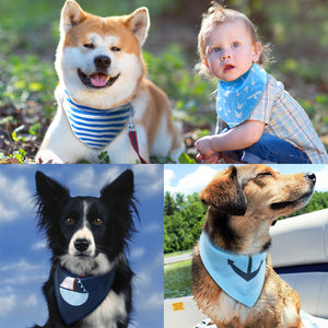 4pcs Adjustable Bandanas