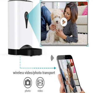 Wifi Pet Feeder Camera video