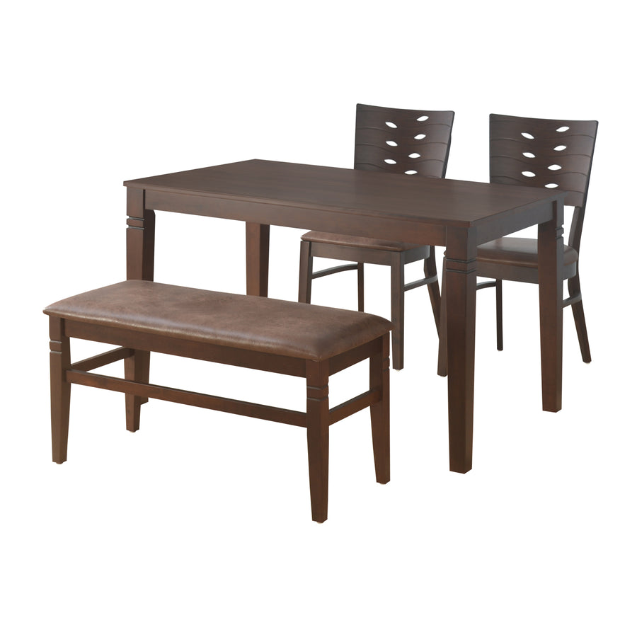 Fern 1+2+Bench Dining Kit (Erin Brown)