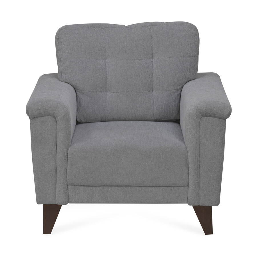 Jerry 1 Seater Sofa (Grey)