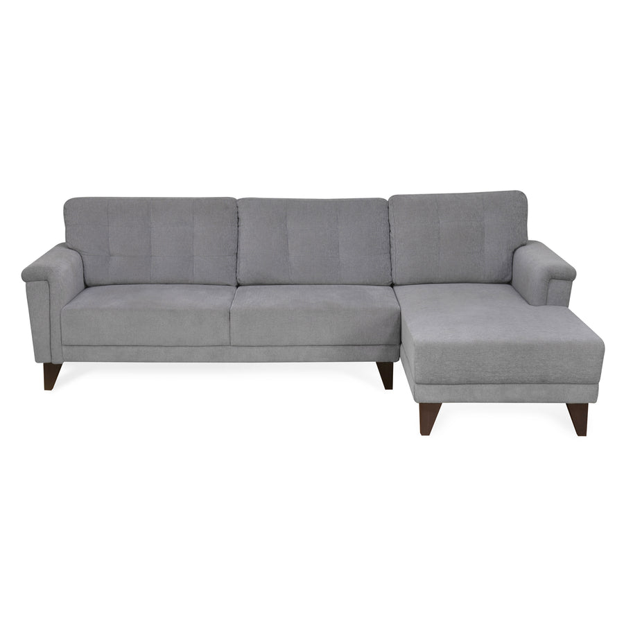 Jerry 3 Seater Lounge Sofa (Grey)