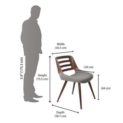 Dan Arm Chair (Brown)