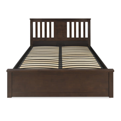 Montreal King Bed With Storage (Espresso)