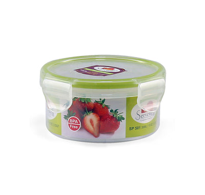 Round Container 300 ml (Green)