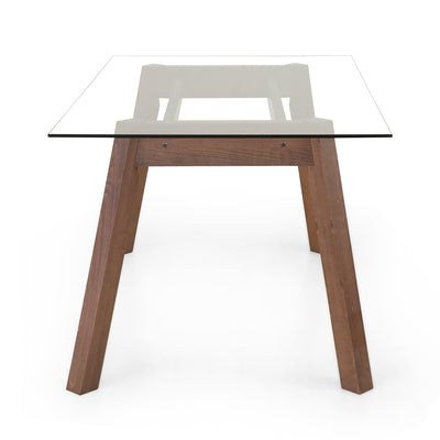 Verito Six Seater Dining Table (Merlot Beech)