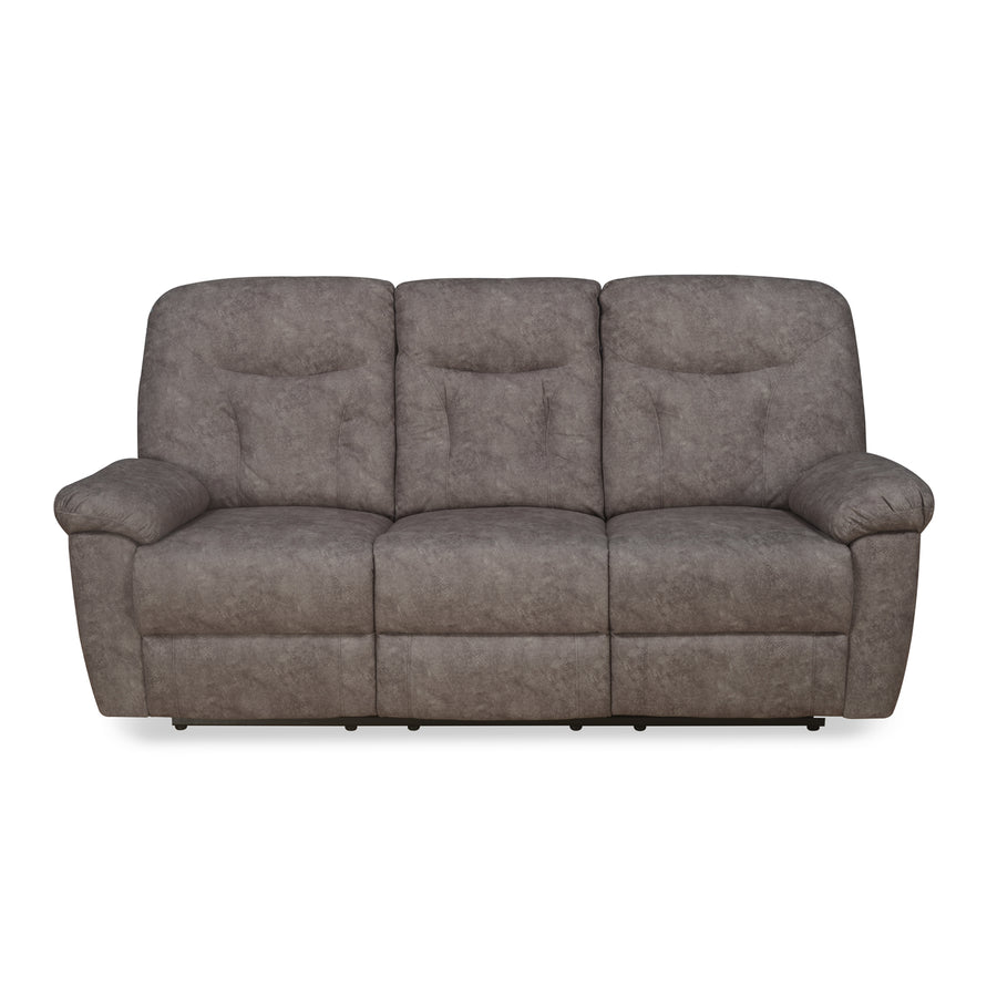 Winters 3 Seater Sofa with 2 Manual Recliners (Rose Grey)