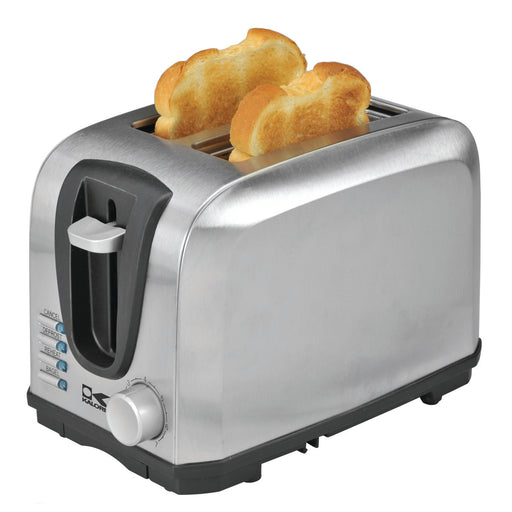 Kalorik 2 Slice Stainless Steel Toaster.