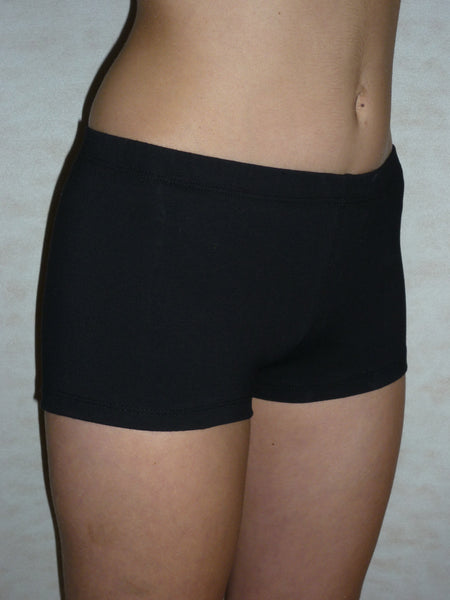 Shorts - Cotton / Lycra Black