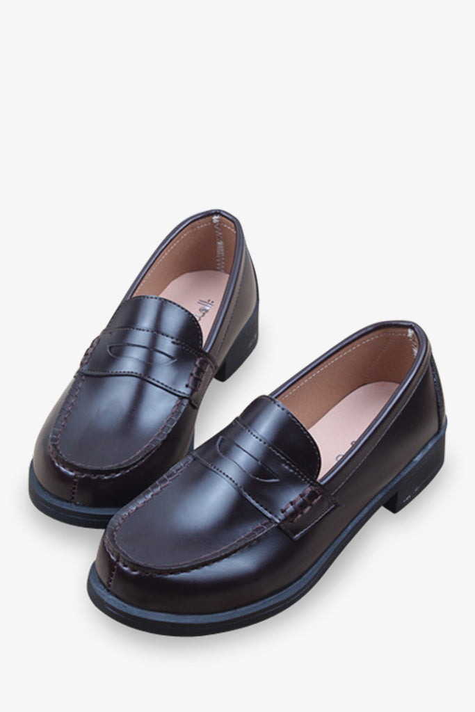 Classic Loafers In Brown