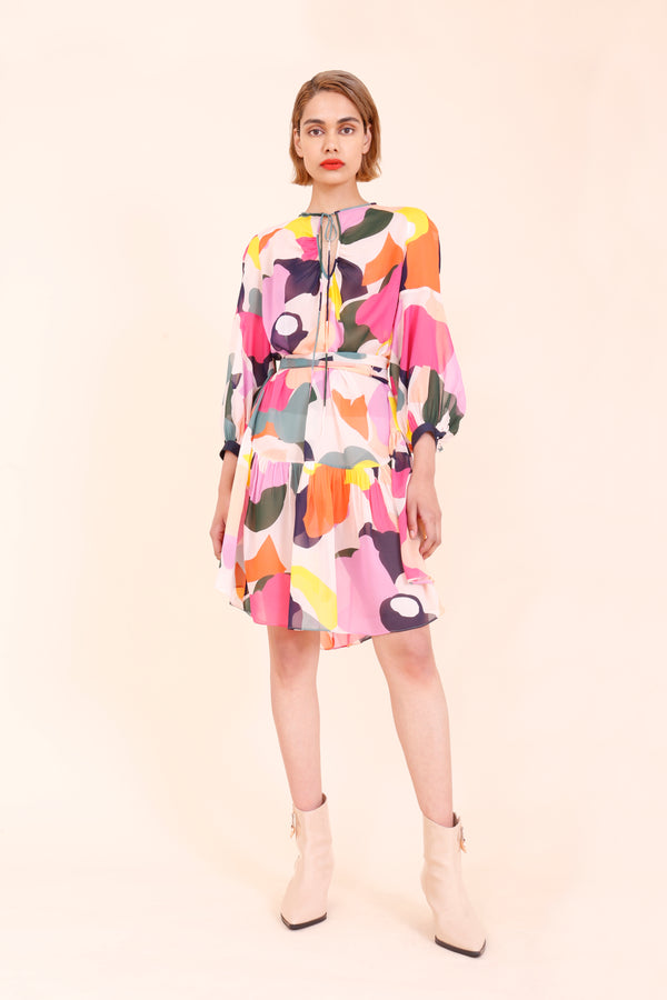 Ginger_and_smart_ Chroma_printed_dress