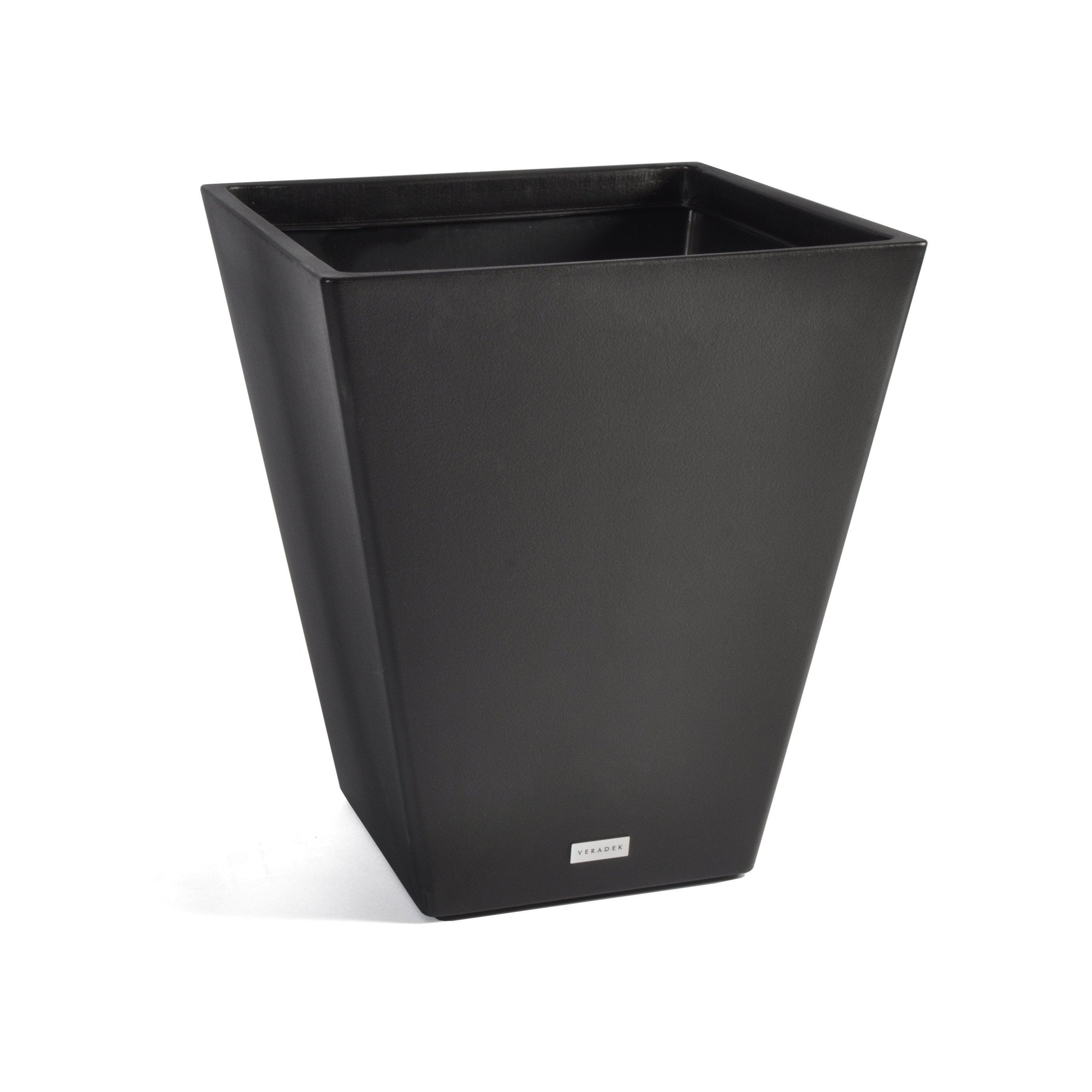 V-Resin Taper Plastic Planter, Modern Planter, Light weight planter, Veradek, indoor and outdoor, self-watering