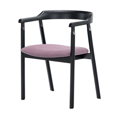 NOFU 737 Dining Chair - Black/Pink