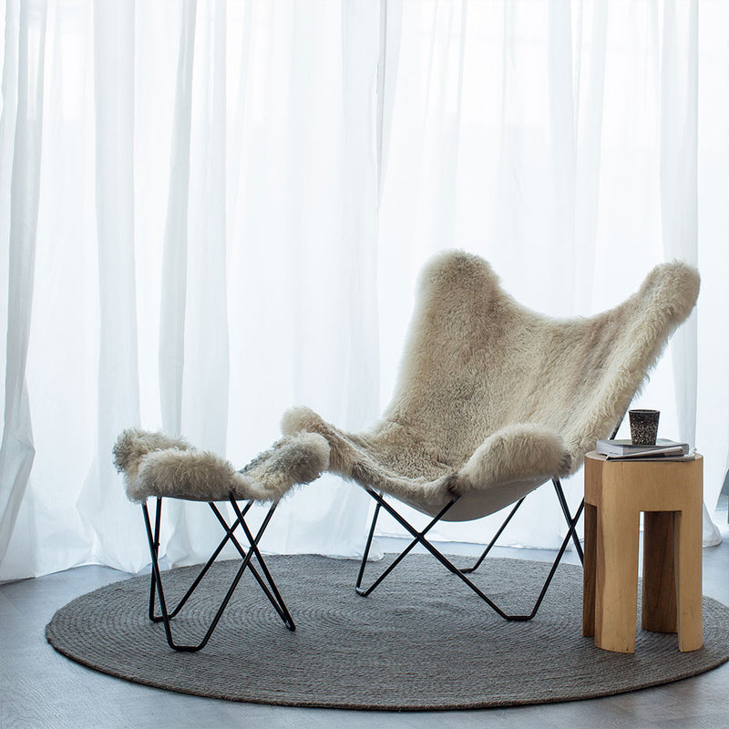 Icelandic Pampa Mariposa Grey Mix Chair