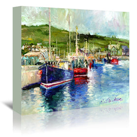 Dingle by Richard Wallich Wrapped Canvas