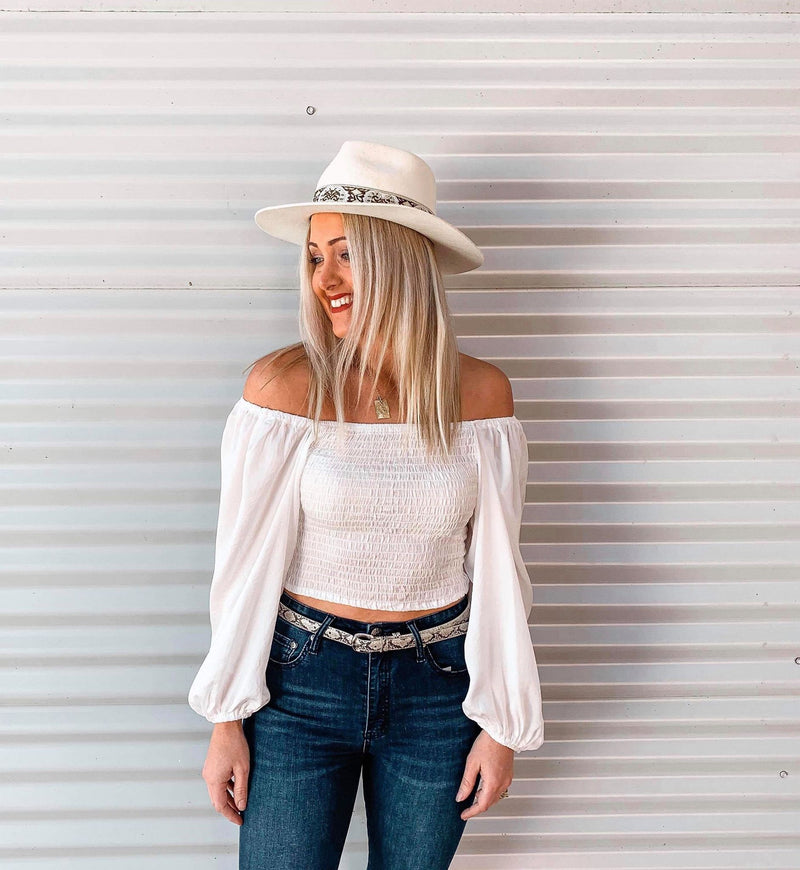 Emilie Top - White