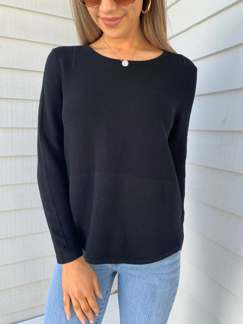 Trapeze Knit - Black