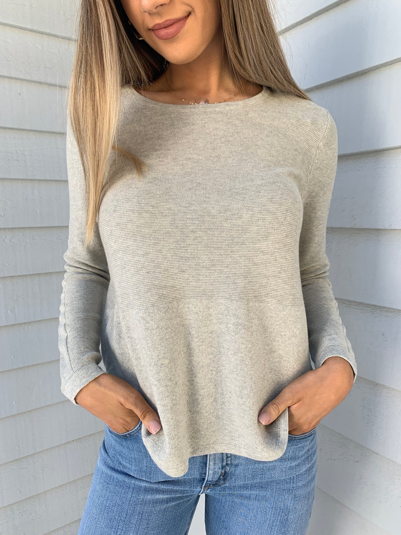 Trapeze Knit - Grey
