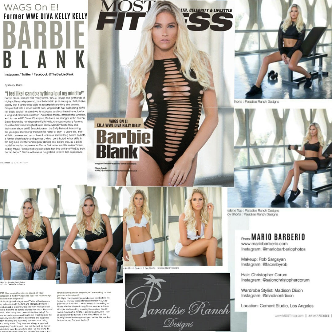 BARBIE BLANK IN MOST MAGAZINE